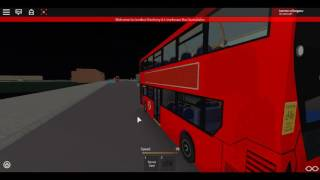 Roblox London Hackney & Limehouse bus Simulator E400 MMC Hybrid SLN on Route 205 to Stepney