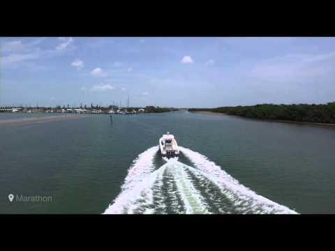 David Swift on sailfish approach to Marathon FL