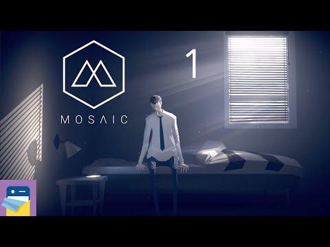 The Mosaic: Apple Arcade iOS Gameplay Walkthrough Part 1 (by Raw Fury / Krillbite Studios)