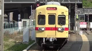 西鉄貝塚線ワンマン 貝塚駅入線