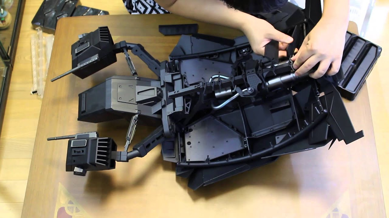 (Hot Toys) The Bat / The Dark Knight Rises Ver. unboxing ...