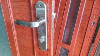 Hướng dẫn tháo lắp khóa cửa,kỹ thuật quan trọng trong học nghề nhôm kính,cửa sắt, cửa gỗ