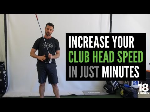 Increase Your Club Head Speed in Just Minutes