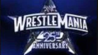 WWE - Wrestlemania 25 Theme Song Full - Shoot To Thrill - ACDC