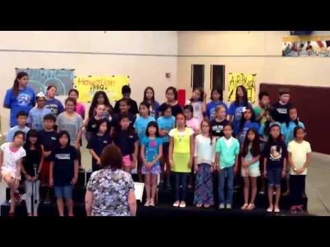 5/2/15 Elaine 5th Grade Chorus Performance @ South Pointe Middle school
