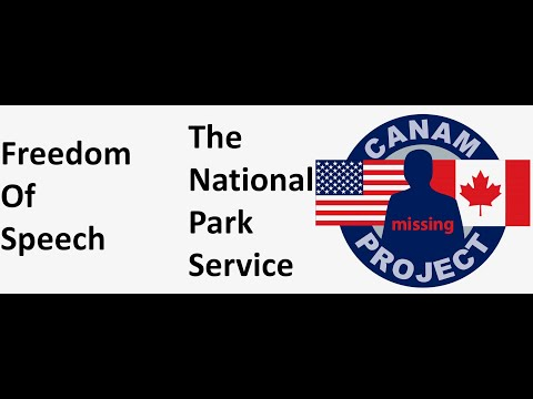 First Amendment & The National Park Service. We Discuss Two Cases Of Missing Children & Mammals.