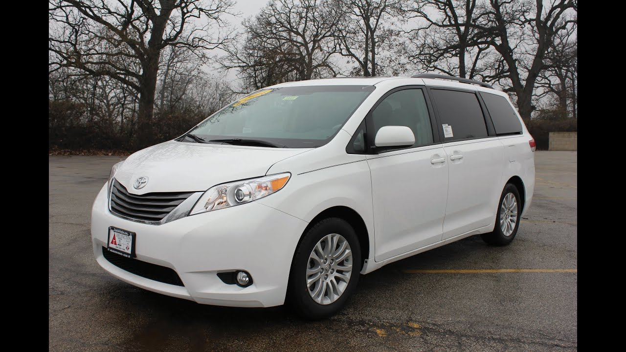 2014 toyota sienna xle test drive chicago news youtube. Black Bedroom Furniture Sets. Home Design Ideas