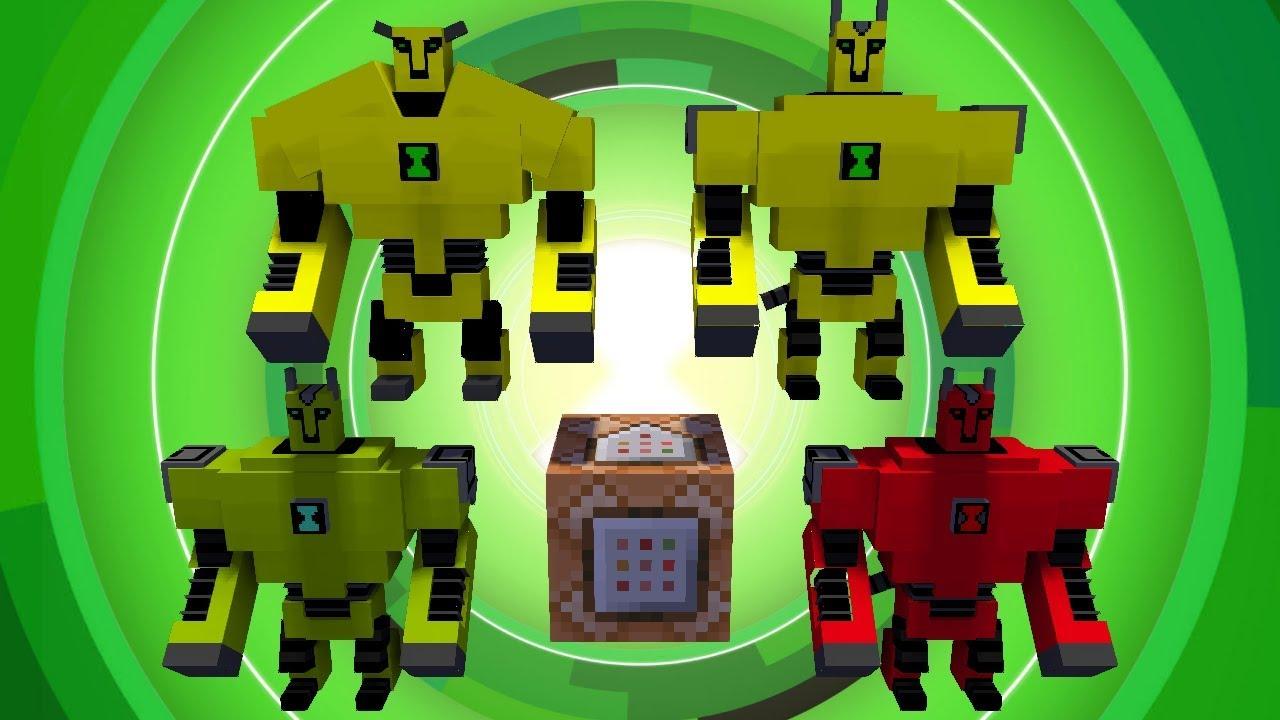 Armodrillo | Minecraft Ben 10 Datapack