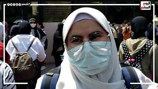 شوف رأي طلاب الثانوية العامة في امتحان اللغة العربية بعد ما خرجوا