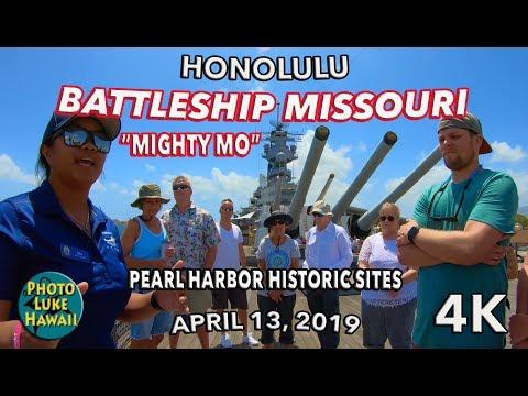 Battleship Missouri at Pearl Harbor