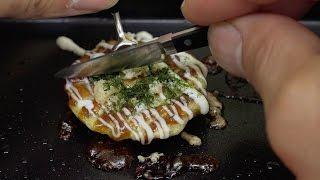 MiniFood Japanese style okonomiyaki 食べれるミニチュアお好み焼き thumbnail