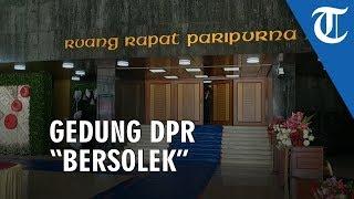 Gedung DPR Bersolek Jelang Pidato Kenegaraaan Presiden Jokowi