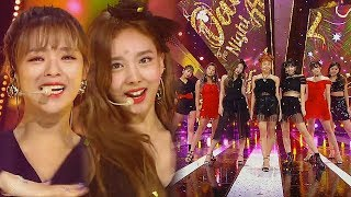 《ADORABLE》 TWICE(트와이스) - Dance The Night Away @인기가요 Inkigayo 20180722