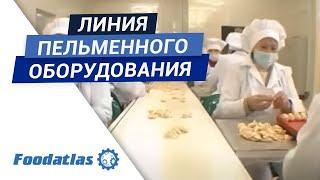 видео Пельменное оборудование: технологическая линия по производству замороженных пельменей