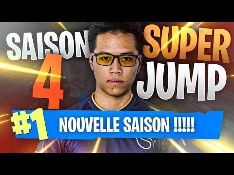 LA SAISON 4 DE FORTNITE : DES SUPER JUMP, LA MÉTÉORITE , NOUVELLE VILLE !! KINSTAAR TOP 1 GAMEPLAY