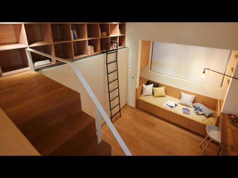 """8 Ways to Create Space-Saving """"Mini Lofts"""" in Tiny Apartments"""