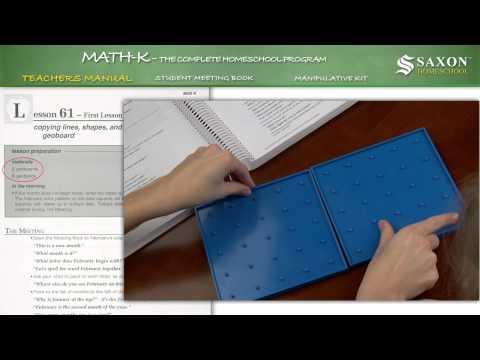 saxon-math-k-teacher's-manual