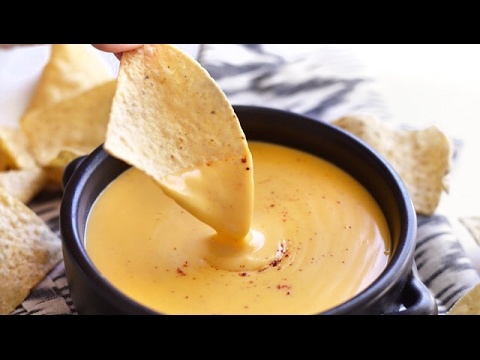 BEST HOMEMADE NACHO CHEESE SAUCE!!