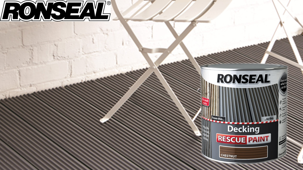 Ronseal decking rescue paint youtube ronseal decking rescue paint baanklon Image collections