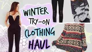 HUGE Winter Try-On Clothing Haul!