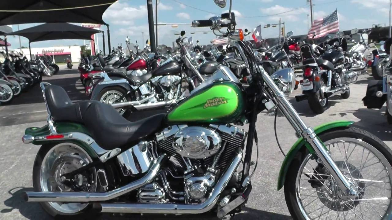 087252 - 2007 Harley Davidson Softail Custom FXSTC - Used motorcycles for  sale