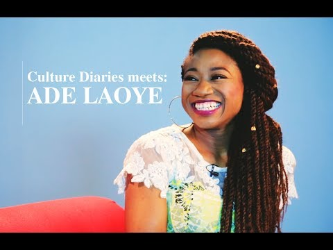 Culture Diaries meets Actor Ade Laoye