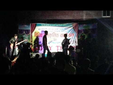 Geetanagar concert/gantabya@ Ghash khatne and hamri aama mashup