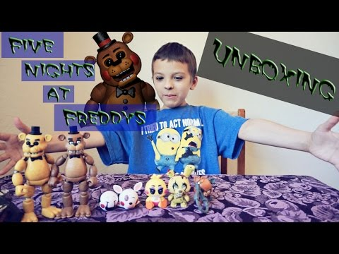 Five Nights At Freddy's Unboxing (Key Rings and Funko)