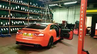 Audi s5 4.2 v8 Akrapovic exhaust.