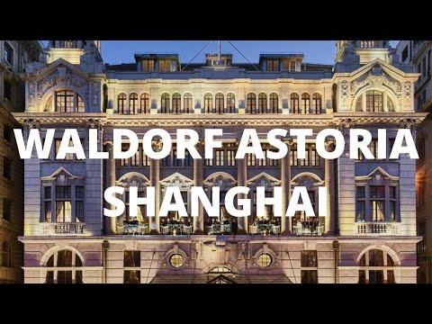 AMAZING LUXURY HISTORIC HOTEL IN SHANGHAI  - WALDORF ASTORIA