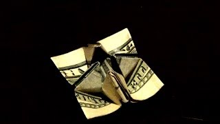 Origami Dollar Crocus Flower - How To Make And Origami Dollar Crocus Flower