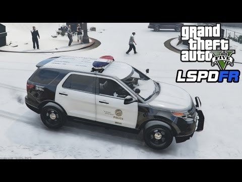 GTA 5 LSPDFR Christmas Special! - 1 Hour SNOW Patrol - LSPDFR Playing As A Cop Episode 40