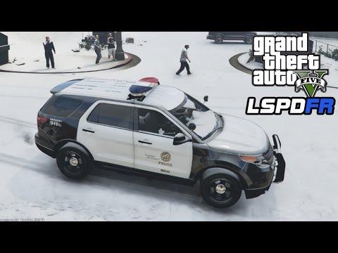 GTA 5 LSPDFR Christmas Special! - 1 Hour...