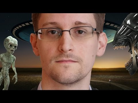 Edward Snowden Claims Aliens Are Trying To Contact Earth