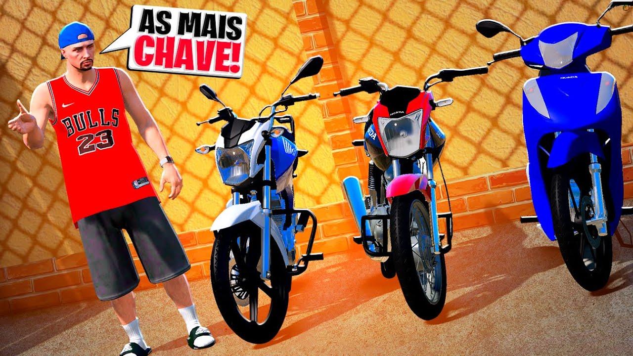 AS MOTOS DO LEILÃO CHEGOU 🛵🥳 | GTA 5 VIDA REAL #171