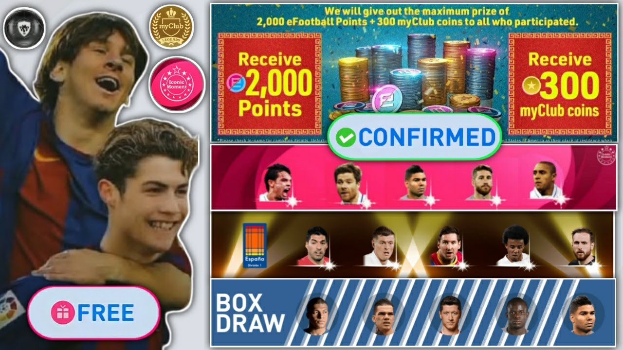 What's Coming On Tomorrow Pes 2021 | What's Coming On Monday Pes Mobile | Free Coins,Iconic Moments🤑