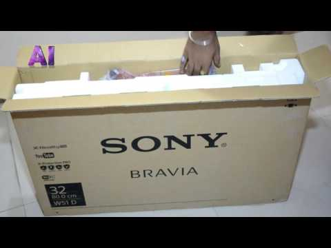 Unboxing Sony Bravia LED Smart TV with Wifi