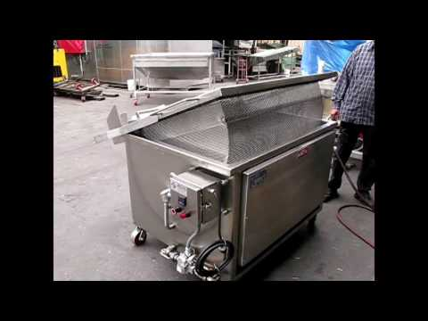 Automatic Batch Fryer For Multiple Purposes