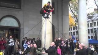 Aussie Street Performer - Boston