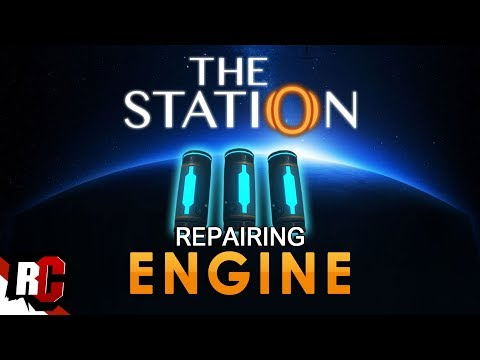 How to repair the Engine | THE STATION (Master Mechanic Engineer Achievement Guide)