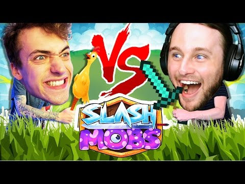 ONE VS ONE SLASH MOBS | THE INTRO CHALLENGE!!