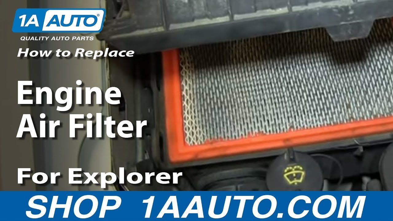 Taurus Fuse Diagram How To Replace Engine Air Filter 2002 10 For Explorer