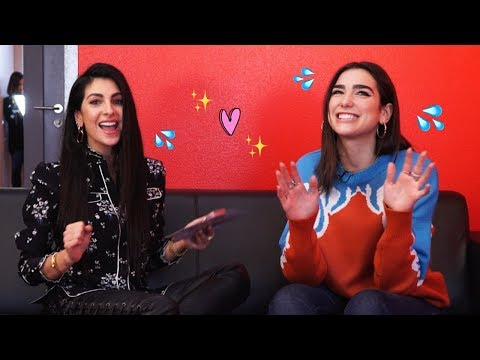 DUA LIPA doet GUESS THE SONG challenge - Anna Nooshin