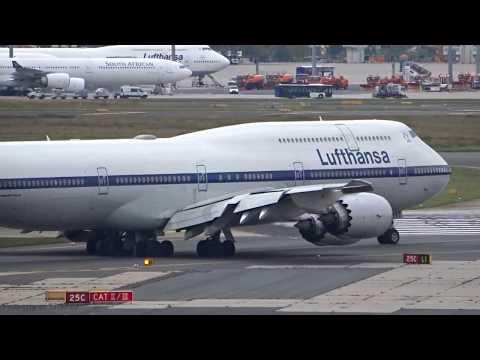 Frankfurt Airport Plane Spotting - Part 1