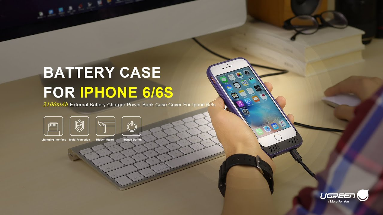 finest selection 2ccc6 02535 Ugreen Battery Case for iPhone 6/6s