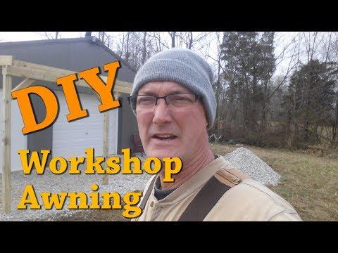 DIY Awning For Polebarn Workshop