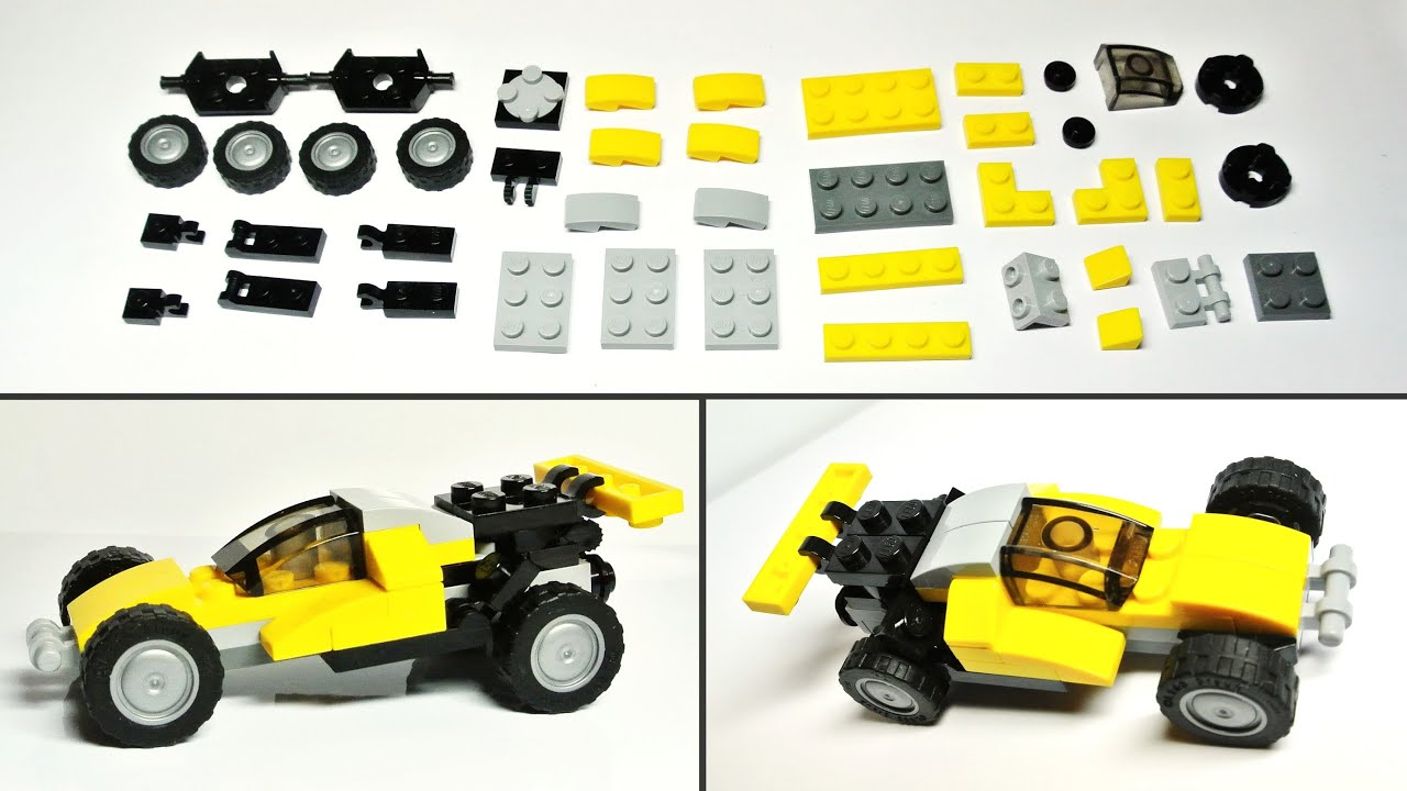 Lego Creator 31014 Alternate Model Assembly Instructions Youtube