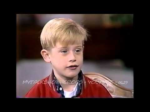 MACAULAY CULKIN  FIRST 'HOME ALONE'