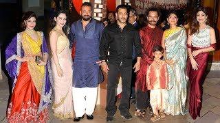 Download lagu Sanjay Dutt s GRAND Diwali Party Salman Khan Aamir Khan Jacqueline Shilpa FlashBack MP3