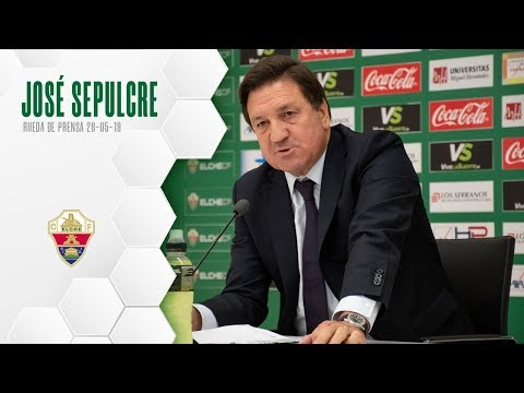 Elche CF Oficial | Rp José Sepulcre | 28-05-2019